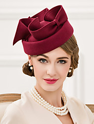 Women's Wool Headpiece-Wedding Special Occasion Casual Fascinators Hats 1 Piece