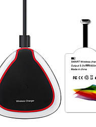 economico -cristallo wireless kit caricabatterie Qi serie mindzo USB tipo-c con ricevitore caricabatterie wireless per il tipo-c smartphone Huawei