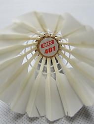 1 pezzo Badminton volani Basso spostamento d'aria Alta resistenza Elevata elasticità Duraturo per Plastica
