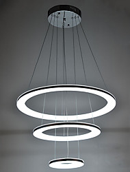cheap -Pendant Light Ambient Light - Crystal, LED, 110-120V / 220-240V, Warm White / Cold White, LED Light Source Included / 10-15㎡ / FCC