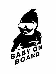 bébé drôle à bord autocollant de voiture fenêtre de la voiture de sticker mural style