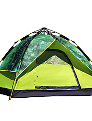 FLYTOP 2 persons Tent Triple Camping Tent One Room Automatic Tent Keep Warm Moistureproof/Moisture Permeability Well-ventilated