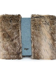 cheap -Women Bags Fur Crossbody Bag Feathers / Fur for Casual Outdoor Winter Fall Brown