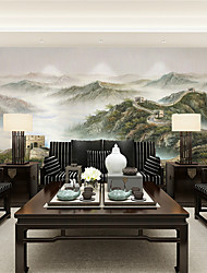 JAMMORY 3D Wallpaper For Home Contemporary Wall Covering Canvas Material Great Wall Scenery XL XXL XXXL