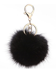 Key Chain Sphere Key Chain Metal Plush