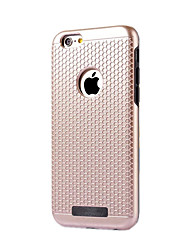 cheap -Case For iPhone 7 Plus iPhone 7 iPhone 6s Plus iPhone 6 Plus iPhone 6s iPhone 6 iPhone 5 Apple Dustproof Back Cover Solid Color Hard PC