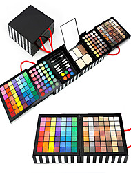 177PCS/SETS Lidschattenpalette Trocken Nass Matt Schimmer Mineral Lidschatten-Palette Balsam Extra GroßAlltag Make-up Halloween Make-up