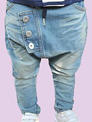 cheap -Boy's Fashion Leisure  Button Cowboy Pants