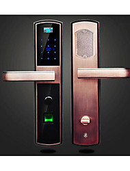 cheap -Fingerprint Password Lock Card Smart Home Apartment Office School Electronic Door Locks