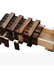 Недорогие -Деревянные пазлы Головоломки Головоломка Кунмина Обучающая игрушка Игрушки Квадратный Тест IQ Оригинальные Дерево Девочки Мальчики 1 Куски