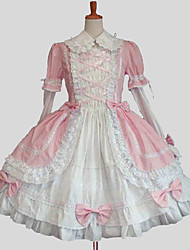 cheap -Sweet Lolita Dress Princess Women's One Piece Dress Cosplay Long Sleeves