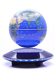 Недорогие -Плавающий глобус Флуоресцентный Творчество Магнитная левитация Мальчики Девочки 1 pcs Куски Металлические пластик Игрушки Подарок