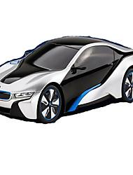 Недорогие -Автомобиль Гоночное судно i8 1:12 Бесколлекторный электромотор RC автомобилей 7 2.4G Синий Готов к использованиюАвтомобиль дистанционного