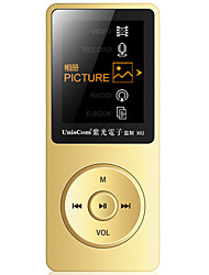 UnisCom MP3/MP4 MP3 WMA WAV FLAC APE OGG AAC Wiederaufladbare Li-Ion Batterie