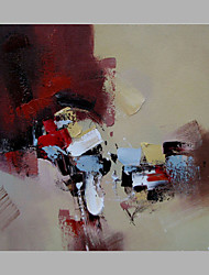 Pintados à mão Abstrato Pinturas a óleo,Moderno 1 Painel Tela Pintura a Óleo For Decoração para casa