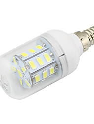 cheap -2W E14 LED Corn Lights T 27 SMD 5730 150-200 lm Warm White Cold White K Decorative V
