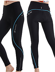 cheap -Nuckily Cycling Tights Women's Bike Tights Bottoms Thermal / Warm Quick Dry Breathable Reflective Strips 4D Pad Limits Bacteria Polyester