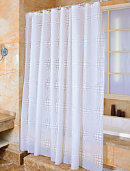 cheap -Shower Curtains Neoclassical PEVA Polka Dot Machine Made