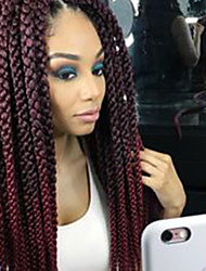 cheap -3d havana mambo twist cubic twist crochet braids hair extensions ombre braiding synthetic braidingcrochet hair twist box braids hair havana mambotwist