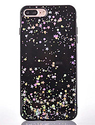 For Apple iPhone 7 Plus 7 6s Plus 6 Plus 6s 6 Case Cover Dustproof Back Cover Glitter Shine Starry Sky Soft TPU