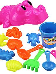 Tue so als ob du spielst Strand & Sandspielzeug Strand Spielzeug Spielzeuge Fische Krokodilleder Stil Neuheit Jungen Mädchen 12 Stücke