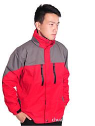 Per uomo Giacche 3-in-1 Ompermeabile Tenere al caldo Antivento Tuta da ginnastica per Sci Campeggio e hiking Attività ricreative Sport da