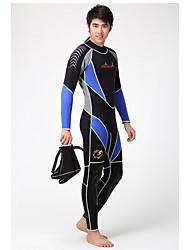 Dive&Sail Pánské 3mm Potápěčské Skins Dlouhý neopren Voděodolný Zahřívací Rychleschnoucí Odolný vůči UV záření Nositelný Prodyšné