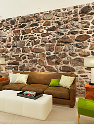 cheap -JAMMORY Large 3D Wallpaper Mural Seamless Simple Living Room Bedroom TV Background Wallpaper Various Irregular Stone Pile Backdrop XL XXL XXXL