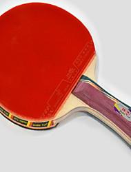 3 Stelle Ping-pong Racchette Ping Pang Gomma Manopola corta Raw gomma Palline da ping pong 1 Racchetta