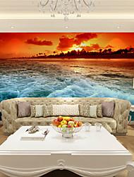 baratos -Floral Art Deco 3D Decoração para casa Moderna Revestimento de paredes, Tela de pintura Material adesivo necessário Mural, Cobertura para