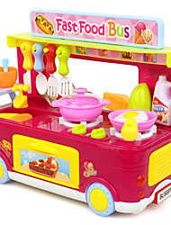 cheap -Pretend Play Toy Kitchen Sets Toy Dishes & Tea Sets Toys Toys Toys Music Novelty Plastic Kids Pieces