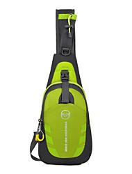baratos -10LBolsa de Ombro Bolsa Transversal para Acampar e Caminhar Ciclismo / Moto Viajar Corrida Cooper Bolsas para Esporte Prova-de-Água Á
