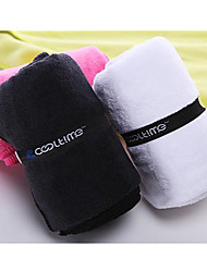 1Pcs  100Cm*30Cm Larger Size Sports Towel With Bag Microfiber Gym Towel Random Color