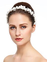 baratos -imitação de pérolas de renda strass headbands headpiece elegant style