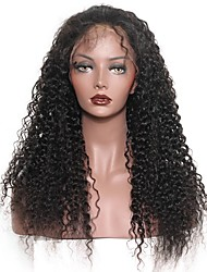 cheap -360 Lace Wigs 180% Density Circular Full Lace Wigs Deep Curly 100% Huamn Hair Wigs Natural Hair Line