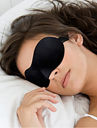 cheap -1 Pcs Hot Sale 3D Portable Soft Travel Sleep Rest Aid Eye Mask Cover Eye Patch Sleeping Mask Case