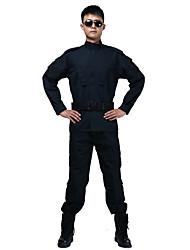 Недорогие -Муж. Жен. Универсальные Длинный рукав Куртка и брюки для охоты Пригодно для носки Дышащий камуфляж Наборы одежды для Охота S M L XL XXL