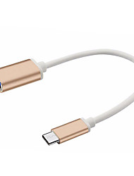 abordables -USB 3.1 Tipo C USB 3.1 Tipo C to USB 2.0 0,25 m (0.8Ft)