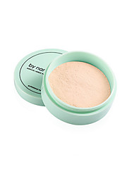 cheap -1Pcs Translucent Pressed Powder With Puff Smooth Face Makeup Foundation Waterproof Loose Powder Skin Powder
