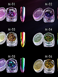 1 clou trousse art kits d'art d'ongle de manucure maquillage ongle cosmétique art bricolage