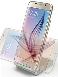 Недорогие -Q700 тройной катушки беспроводной зарядки стоять со стандартом ци для смартфонов