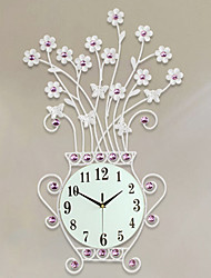 cheap -Modern Creative Contracted Rural Wind European Clock Mute Wall Clock