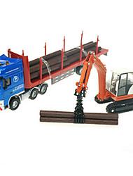 preiswerte -Spielzeug-Autos Spielzeuge Lastwagen Baustellenfahrzeuge Spielzeuge Einziehbar LKW Metalllegierung Metal Klassisch & Zeitlos Schick &