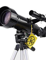 cheap -CELESTRON 70/400 10-165 X 70 mm mm Telescopes Refractor Waterproof / High Definition / Fogproof Fully Coated PU Leather / Plastic / Aluminium Alloy / Astronomical Telescope / Wide Angle