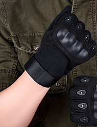 cheap -Wearable Nylon Black Unisex Hunting Gloves