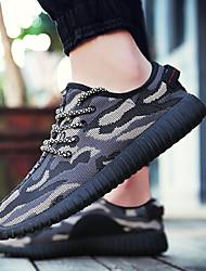 abordables -Unisexe Chaussures Tulle Printemps / Eté / Automne Confort Chaussures d'Athlétisme Course à Pied Talon Bas Bout rond Lacet Rouge / Écran