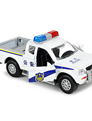 cheap -Toy Cars Pull Back Vehicles Truck Construction Vehicle Military Vehicle Police car Toys Novelty Car Truck Metal Alloy Metal Classic &
