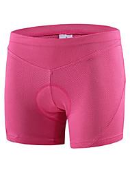 cheji® Pantaloni da ciclismo Per donna Bicicletta Pantaloncini imbottiti di protezione Traspirante Asciugatura rapida Comodo Compressione