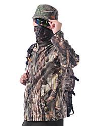Недорогие -Муж. Жен. Универсальные Длинный рукав Флисовка для охоты Сохраняет тепло камуфляж Верхняя часть для Охота M L XL XXL