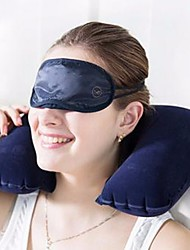 cheap -1Pcs 26Cm*44Cm   Functional Inflatable U Shaped Pillow Car Head Neck Rest Air Cushion For Travel